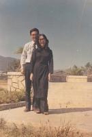 Nguyễn Mộng Giác và Nguyễn Khoa Diệu Chi, Qui Nhơn, quãng 1970